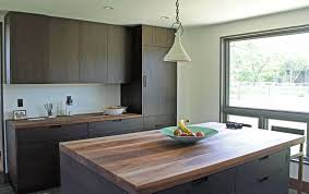 Kitchen Cabinets Contemporary Style Overlay Walnut Cabinetry Contemporary Kitchen Cabinets European