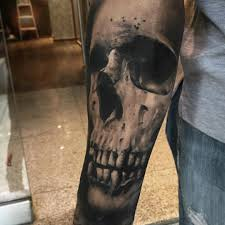 sleeve skull tattoos tatoo and tatting