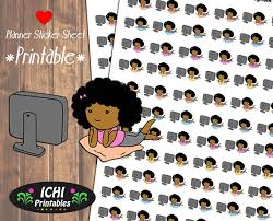 printable tv stickers netflix and chill printable planner stickers netflix and chill
