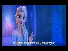 film elsa anak disney frozen for the first time in forever reprise in bahasa