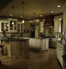 distressed kitchen cabinets kitchen rustic with vaulted ceiling