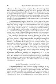 national honor society sample essay 2 foundational mathematics content mathematics learning in early page 44