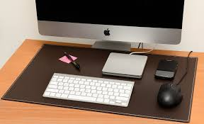 amazon com computer leather desk pad stylish mat cover