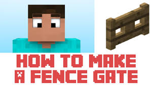 how to make a wood fence gate minecraft plans diy free download