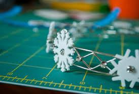 Snowflake Halloween Costume Frozen Inspired Snowflake Headband