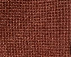 Primitive Upholstery Fabric Rust Fabric Etsy