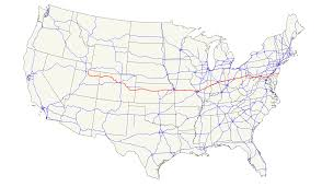 Southeast Usa Map by Us Route 40 In Pennsylvania Wikipedia Us Route 101 In California