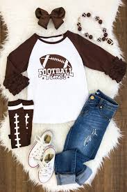 Baby Boy Football Clothes Football Sparkle In Pink