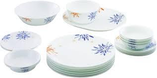 Buy Corelle Dinner Set Online India Corelle Pack Of 21 Dinner Set Price In India Buy Corelle Pack Of