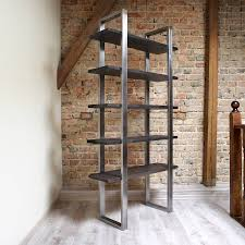 industrial style freestanding shelving unit by cosywood industrial style freestanding shelving unit
