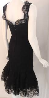 black lace dress vintage all pictures top