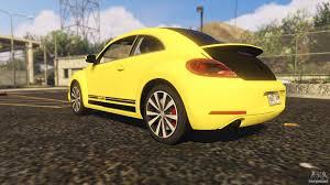 the original volkswagen beetle gsr limited edition vw beetle gsr 2012 for gta 5
