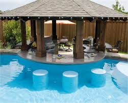 Outdoor Swimming Pool by Pool Have Other Side Of Round Bar Be Dry Bar Stools At Same Height