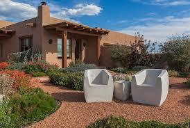 desert landscape design exterior southwestern with gravel patio