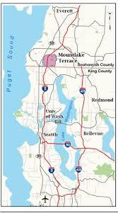 Redmond Washington Map by Maps Mountlake Terrace Wa