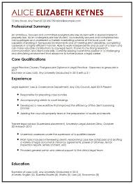 Resume Template For Secretary Sample Paralegal Resume Template