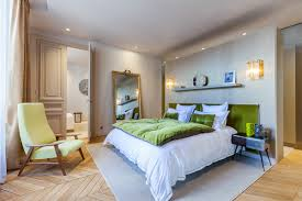 parisian bedroom furniture modern luxury apartment interior design by mathieu fiol roohome