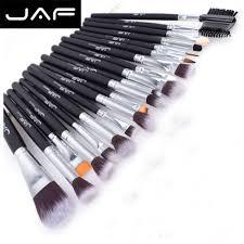 cheap professional makeup 100 vegan synthetic professional makeup brush 20 pieces set