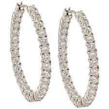 earrings hoops graff diamond gold hoop earrings at 1stdibs