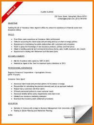 Sales Agent Resume Sample by 12 Insurance Agent Resume Sample Budget Template
