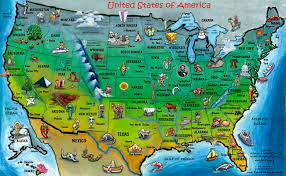 Travel Map Of Usa by Walking With Attitude