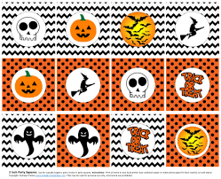 free printable halloween cupcake toppers free halloween printables from seshalyn parties catch my party