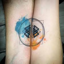 34 matching couple tattoos all lovers will appreciate tattooblend