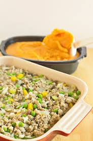 sweet turkey recipes thanksgiving easy sweet potato shepherds pie casserole recipe