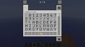 forge lettercraft 1 6 4 u0026bug fix minecraft mod