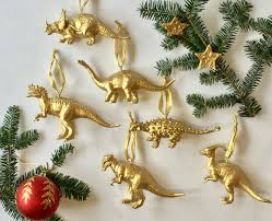ornaments dinosaur ornaments lot of barney