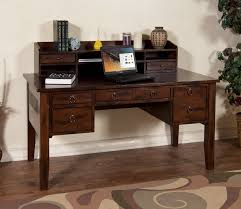 Narrow Computer Desk With Hutch by Desk With Hutch And Drawers Decorative Desk Decoration