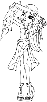 monster high coloring pages baby abbey bominable abbey bominable monster high coloring page coloring pages of