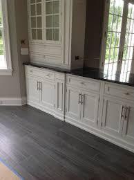 Grey Wood Floors Kitchen by Grey Wood Flooring Kitchen Modern With Urban Style