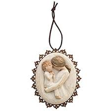 willow tree friendship metal edged ornament by susan