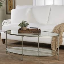 Glass Oval Coffee Table Oval Coffee Table Decoration Metropolitan C