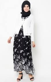 desain baju batik halus macam macam style busana muslim desain baju batik muslim yang