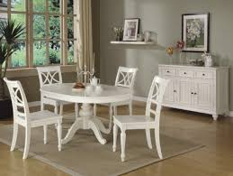 Round White Table And Chairs For Kitchen by White Round Dining Table Set U2013 Thejots Net