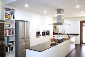 kitchen island construction z l construction singapore kitchen island in black and white