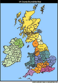 map of county uk postcode maps and county map colouring software