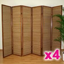 separateur de chambre lot de paravents separateur pieces bois et b sacparateur piaces