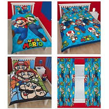 chambre mario bros official nintendo mario brothers bedding duvet cover sets boys