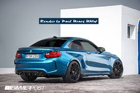 bmw cs concept renders my vision of the future m2 cs