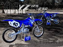 best 125 motocross bike 2009 yamaha yz250 u0026 yz125 first ride motorcycle usa