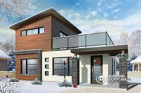 Small And Modern House Plans by House Plan W1703 Detail From Drummondhouseplans Com