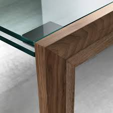 Extendable Glass Dining Table Lapsus Extendable Glass Dining Table By Tonelli Klarity Glass