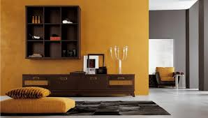wooden cabinets for living room awesome ethnic living room with calm brown wall paint small wooden