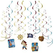 jake land pirates hanging party decorations party
