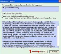 resetter epson l200 mac resetter printer epson stylus t20 t20e driver supports pinterest