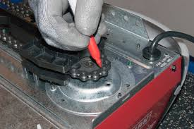 Garage Door Opener Shaft Drive by How To Replace The Gear And Sprocket Assembly On A Chain Drive