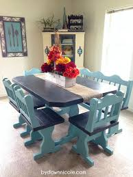 Vintage Dining Table Craigslist 50 Craigslist Table Set Paint Makeover Hometalk